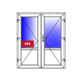 дверь входная пвх двустворчатая